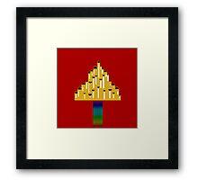 Thor minimalist logo Framed Print