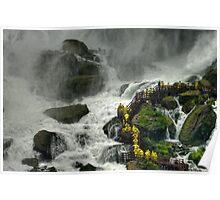 Niagara Falls - Bridal Veil Falls Poster
