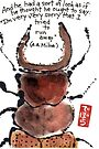 Stag Beetle by dosankodebbie
