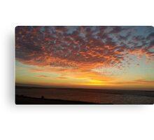 Bay Area Delta Sunset Landscape Canvas Print