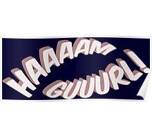 Ham Girl! Poster