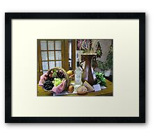 Mommy's Time Out Framed Print