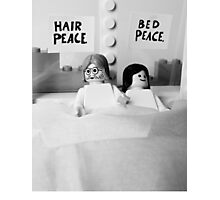 Bed-In Photographic Print