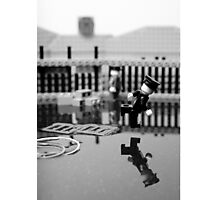Behind the Gare Saint Lazare Photographic Print