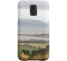 Lough Swilly with snow capped Donegal Hills - Donegal Ireland  Samsung Galaxy Case/Skin