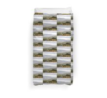 Lough Swilly with snow capped Donegal Hills - Donegal Ireland  Duvet Cover