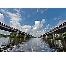 Interstate Ten over the Atchafalaya Basin  Photographic Print