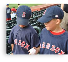 baseball buds Canvas Print