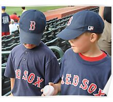 baseball buds Poster