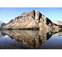 Crowfoot Mountain, Banff National Park Photographic Print