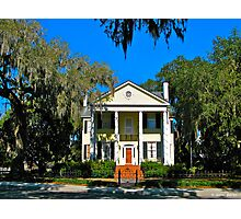 Colonnades, Live Oak and Spanish Moss Photographic Print