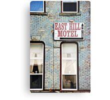 The Missing Motel Metal Print