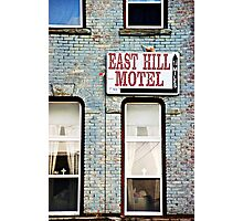The Missing Motel Photographic Print