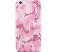 Cute Pink Camouflage Pattern iPhone Case/Skin