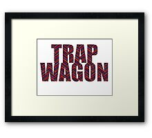 Trap Wagon Aztec Framed Print