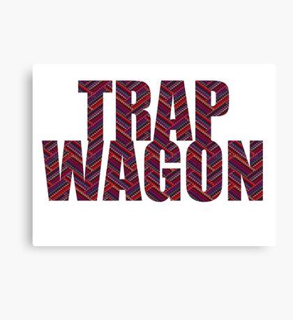 Trap Wagon Aztec Canvas Print