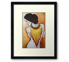 Jeweled Embrace Framed Print