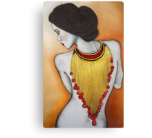 Jeweled Embrace Canvas Print