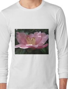 Crumpled Flower Long Sleeve T-Shirt