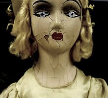 """Lonely Girl"" - Antique Mall Doll "" by RetroReva"