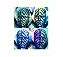 The Wallflower Heads Art Print