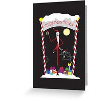 Jack the Sandy Claws Greeting Card