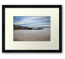 Newcastle Beach, NSW Australia Framed Print