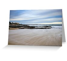 Newcastle Beach, NSW Australia Greeting Card