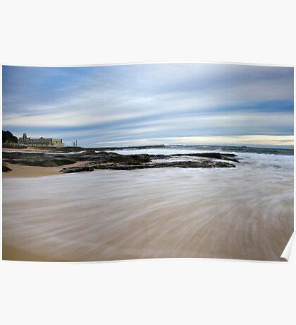 Newcastle Beach, NSW Australia Poster