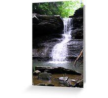 hidden lagoon Greeting Card