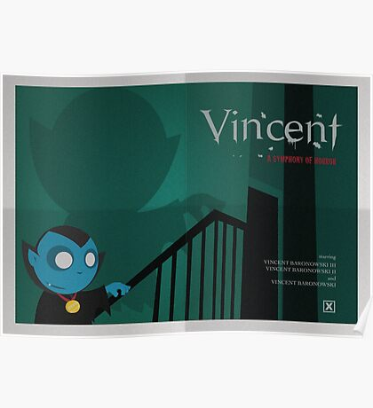 GATE STREET HIGH - Vincent - Classic Poster