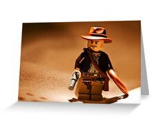 Indiana Desert Portrait Greeting Card