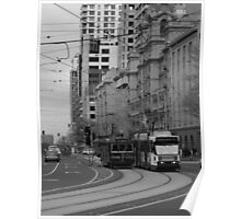 Melbourne Trams Poster