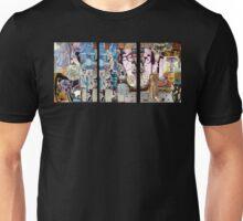Buddy Holly Tryptich. Unisex T-Shirt