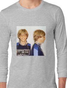 Bill Gates Mugshot Long Sleeve T-Shirt