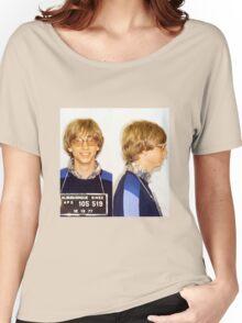 Bill Gates Mugshot Women's Relaxed Fit T-Shirt