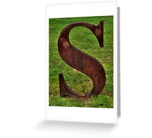 'S' is for Secular Greeting Card