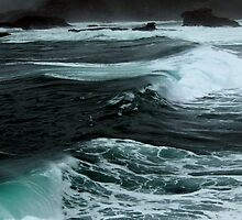 Breaks on the Oregon Coast by Michael Lehman
