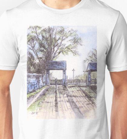 St John the Baptist Church, Broadclyst Unisex T-Shirt