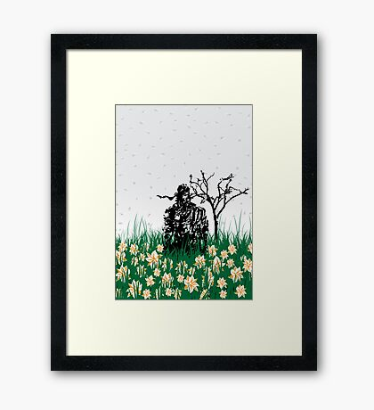 The end of Joy  (MGS3) Framed Print