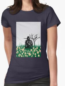 The end of Joy  (MGS3) Womens Fitted T-Shirt
