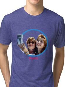 Thelma and Louise selfie - Susan Sarandon & Geena Davis Tri-blend T-Shirt