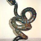 Recycled Metal Snake by Joseph Barbara