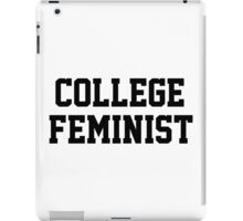 College Feminist iPad Case/Skin