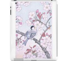JAPANESE ART - Bird on Sakura iPad Case/Skin