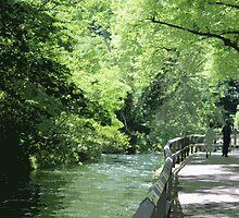 Riverside Walk by Marie Breton