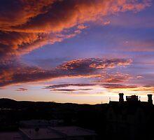 Nature's Pre-Sunrise Paint Brush At Work by stevealder