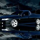 Black Thunder by Steven  Agius