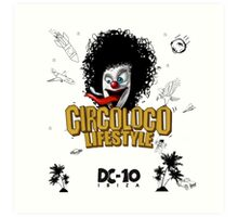 Circo Loco DC-10  Art Print