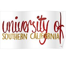 USC 2-Tone Poster